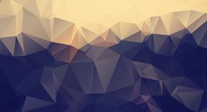 Vector abstract triangulated pale colorless background. Horizontal dynamic grey pattern. Geometric texture. Modern. Triangles. Vector Polygon Abstract modern Stock Images