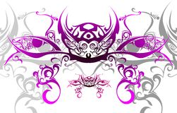 Vector abstract and tribal art Stock Photos