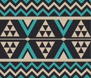 Vector Abstract Tribal Ethnic Pattern Background Illustration Stock Image