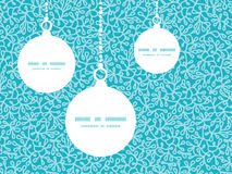 Vector abstract underwater plants Christmas. Ornaments silhouettes pattern frame card template graphic design Stock Photo