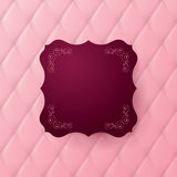 Vector abstract upholstery background. Royalty Free Stock Photo