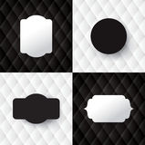 Vector abstract upholstery background. Royalty Free Stock Images