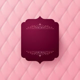 Vector abstract upholstery background. Royalty Free Stock Photography