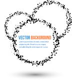 Vector abstract water and circle. Royalty Free Stock Photography