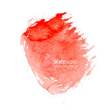Vector abstract watercolor splash background with paper texture. Stock Photo