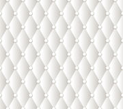 Vector abstract white upholstery background Stock Image