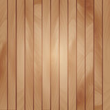 Vector abstract wood texture. Vector background. Vertical bright brown strips for your design Royalty Free Illustration