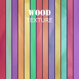 Vector abstract wood texture. Royalty Free Stock Images