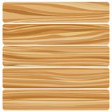 Vector abstract wood texture in flat design Stock Image