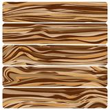 Vector abstract wood texture in flat design. Five wooden boards. Vector abstract wood texture in flat design vector illustration