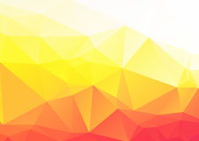 Vector abstract yellow orange background Stock Images