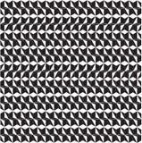 Vector abstract zwart-wit vormenpatroon als achtergrond voor de grafiek van het kunstontwerp Royalty-vrije Stock Fotografie