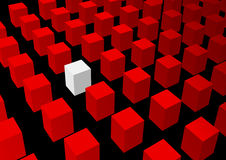 Vector abstracte achtergrond Royalty-vrije Stock Foto
