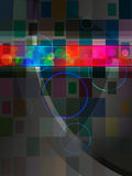 Vector abstracte achtergrond Stock Foto's
