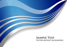 Vector abstracte achtergrond Stock Foto
