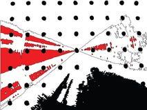 Vector abstracte achtergrond Royalty-vrije Stock Afbeelding
