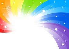 Vector abstracte achtergrond in heldere kleur Royalty-vrije Stock Foto