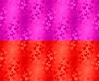 Vector abstracte achtergrond met harten royalty-vrije stock foto