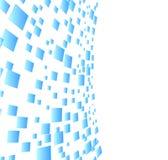 Vector abstracte achtergrond met vierkanten Royalty-vrije Stock Foto's