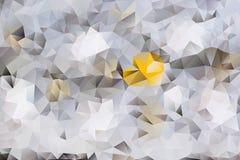 Vector abstracte achtergrond van driehoeken Royalty-vrije Stock Afbeeldingen