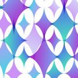 Vector abstracte achtergrond van geometrische vormen Stock Fotografie