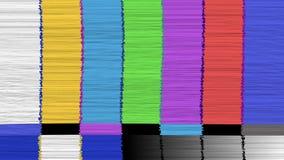 Vector abstracte achtergrond Vervormde glitch TV Nakomelingsnetwerk Digilal Geen signaal stock illustratie