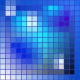 Vector abstracte achtergrond-vierkanten mozaïektextuur Stock Afbeelding