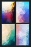 Vector abstracte achtergrond in vlakke stijl vector illustratie