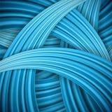 Vector abstracte blauwe achtergrond. Stock Afbeeldingen