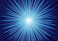Vector abstracte blauwe achtergrond Royalty-vrije Stock Afbeelding