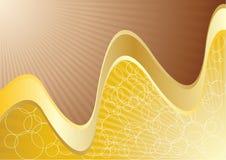 Vector abstracte chocoladeachtergrond Stock Afbeelding
