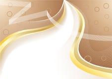 Vector abstracte chocoladeachtergrond Stock Fotografie