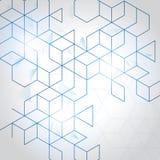 Vector abstracte dozenachtergrond stock illustratie