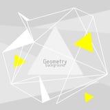 Vector abstracte driehoekenachtergrond Royalty-vrije Stock Afbeelding