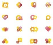 Vector abstracte elementen Royalty-vrije Stock Foto's