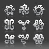 Vector abstracte emblemen
