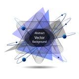 Vector Abstracte geometrische achtergrond vector illustratie