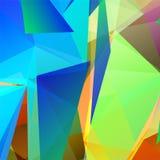 Vector abstracte geometrische driehoekige kleurrijke achtergrond vector illustratie