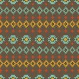 Vector abstracte geometrische elementen voor kader, grenselementen, patroon, etnische inzameling, stammen Azteeks art. Royalty-vrije Stock Afbeelding