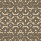 Vector abstracte geometrische elementen voor kader, grenselementen, patroon, etnische inzameling, stammen Azteeks art. Stock Afbeelding