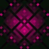 Vector abstracte glamourachtergrond met diagonale lijnen en stroken Glanzende violette achtergrond Royalty-vrije Stock Fotografie