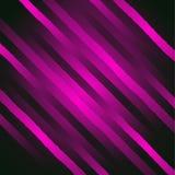 Vector abstracte glamourachtergrond met diagonale lijnen en stroken Glanzende violette achtergrond Royalty-vrije Stock Foto