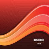 Vector Abstracte Golvende Werveling Als achtergrond stock illustratie