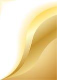 Vector abstracte gouden achtergrond Stock Foto