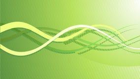 Vector abstracte groene hoogte - technologieachtergrond vector illustratie