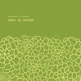 Vector abstracte groene natuurlijke horizontale textuur Stock Foto's