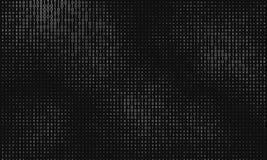 Vector abstracte grote gegevensvisualisatie De stroom van Grayscalegegevens als binaire aantallenkoorden De vertegenwoordiging va stock illustratie