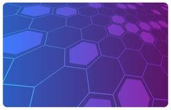 Vector abstracte hallo-technologieachtergrond stock illustratie