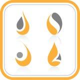 Vector abstracte Internet pictogrammen Royalty-vrije Illustratie