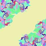 Vector abstracte kleurrijk Stock Foto